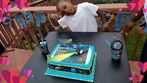 Jah's Batman themed birthday party